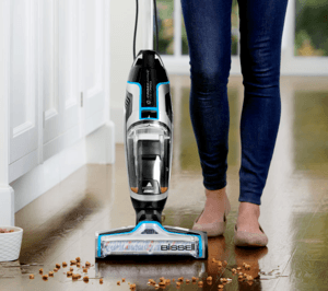 being a  bissell vacuum cleaner, you can count on this product to suck in dirt and debris without a hitch