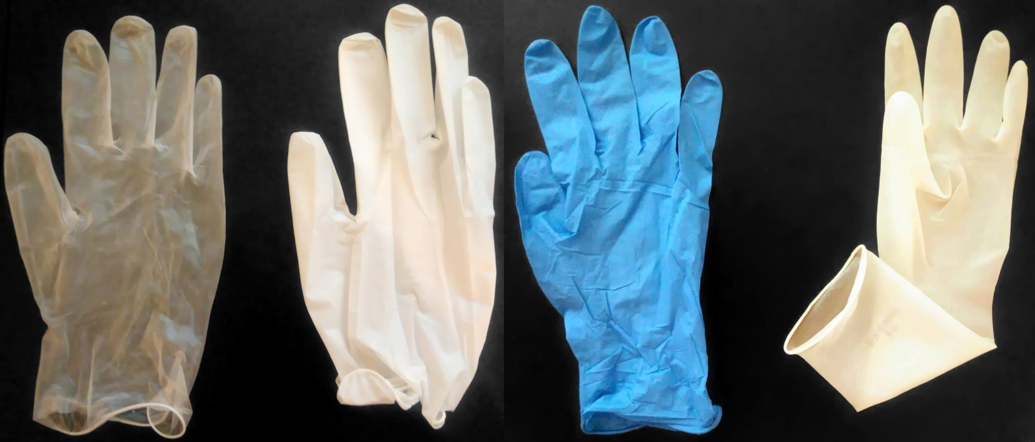 different nitrile gloves